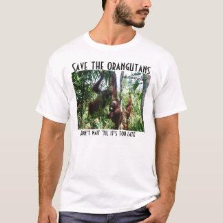 Camiseta Salvar o salvamento dos animais selvagens dos