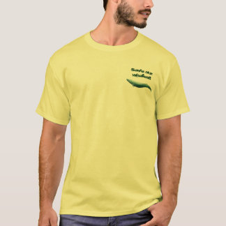 Camiseta Salvar o t-shirt da baleia azul