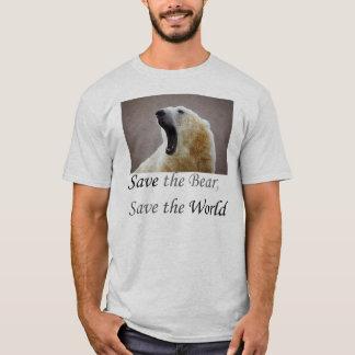 Camiseta Salvar o urso
