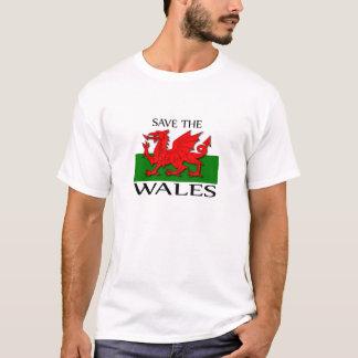 Camiseta Salvar o Wales