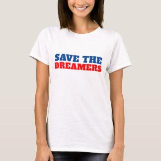 Camiseta Salvar os eventos actuais dos sonhadores