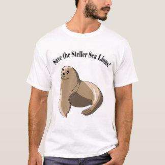 Camiseta Salvar os leões de mar de Steller!