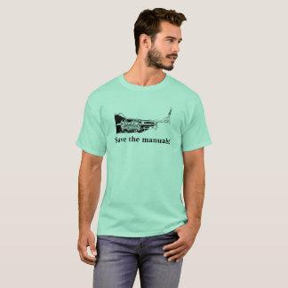 Camiseta Salvar os manuais!