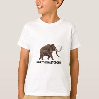 Camiseta Salvar os mastodons