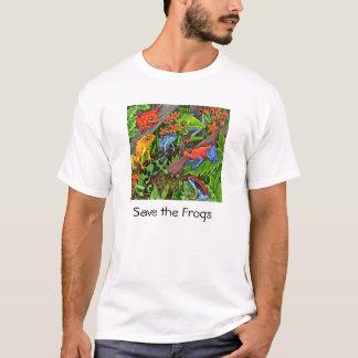 Camiseta Salvar os sapos