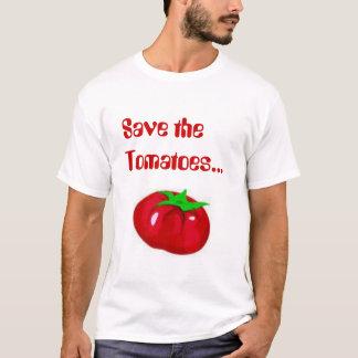 Camiseta Salvar os tomates