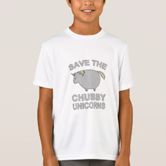 Camiseta Salvar os unicórnios carnudos
