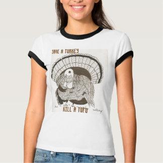 """Camiseta """"Salvar t-shirt da campainha das mulheres de um"""