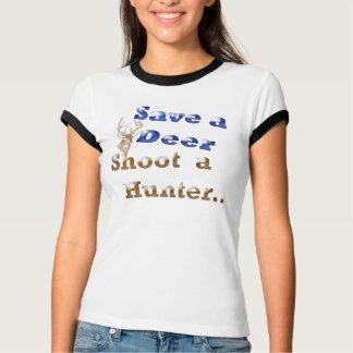 Camiseta salvar um cervo