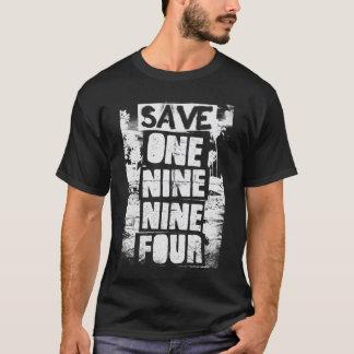 Camiseta Salvar UM NOVE NOVE QUATRO - obscuridade