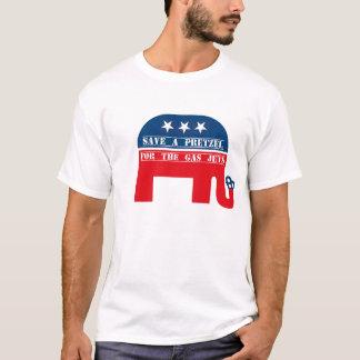 Camiseta Salvar um pretzel - Rick Perry