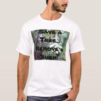Camiseta Salvar uma árvore