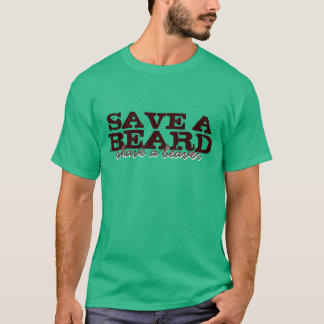 Camiseta Salvar uma barba