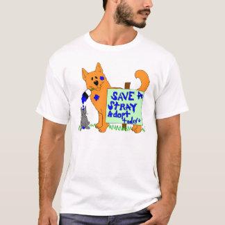 Camiseta Salvar uma estática