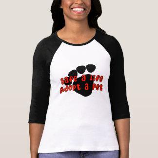 Camiseta Salvar uma vida