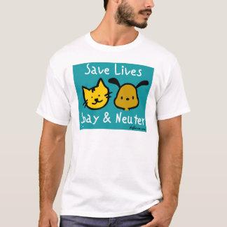 Camiseta Salvar vidas - Spay & neutralize