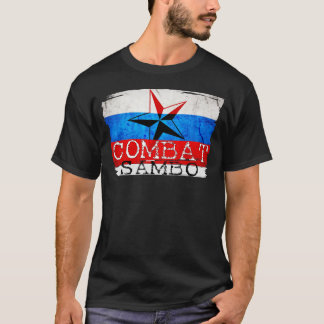 Camiseta Sambo do russo do t-shirt do Sambo do combate
