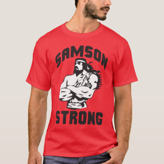 Camiseta Samson forte - Bodybuilding