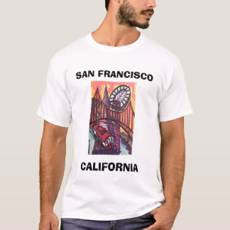 CAMISETA SAN FRANCISCO, CALIFÓRNIA