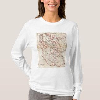 Camiseta San Mateo, Santa Cruz, Santa Clara, Alameda