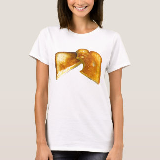 Camiseta Sanduíche grelhado do queijo