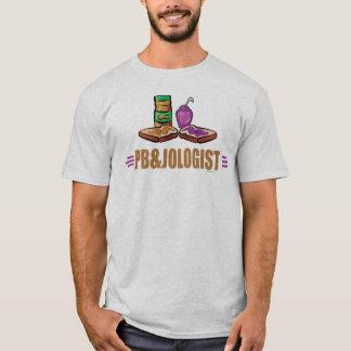 Camiseta Sanduíches engraçados da geléia da manteiga de