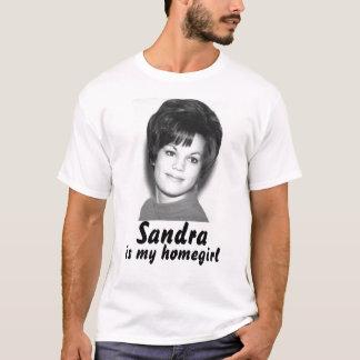 Camiseta sandy008, Sandra, é meu homegirl