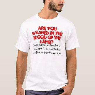 Camiseta Sangue do cordeiro