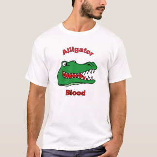 Camiseta Sangue do jacaré