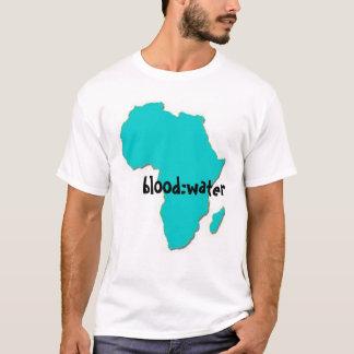 Camiseta Sangue: Missão da água