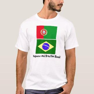 Camiseta Sangue português e brasileiro!