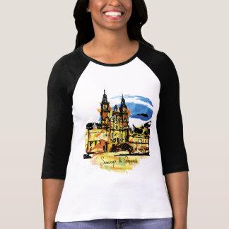 Camiseta Santiago de Compostela buen o t-shirt   do camino