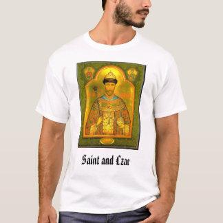 Camiseta Santo e czar, santo e czar