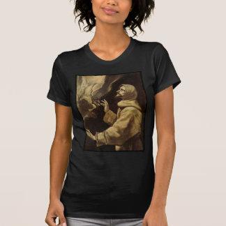 Camiseta Santo Francis na oração