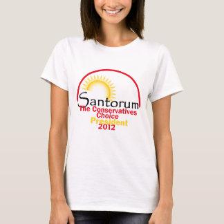 Camiseta Santorum 2012