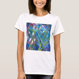 Camiseta Santuário do Sagebrush com grama selvagem