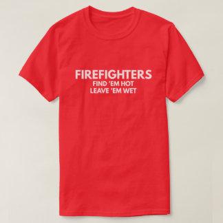 Camiseta Sapadores-bombeiros - deixe-os molhados