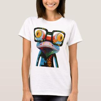Camiseta Sapo dos vidros do hipster