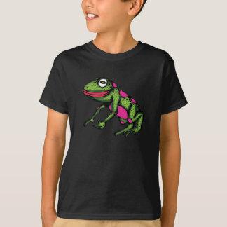 Camiseta sapo e mosca