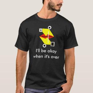 Camiseta Sapo engraçado de Fraggled (frazzled/agitou)