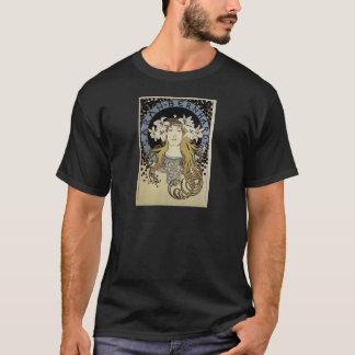 Camiseta Sarah Bernhardt por Alphonse Mucha
