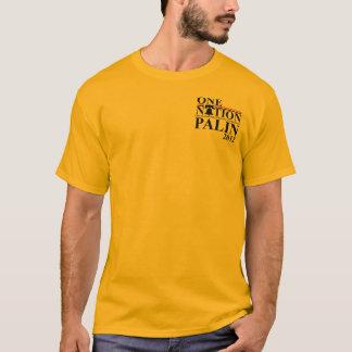 Camiseta Sarah nação de Palin 2012 - um