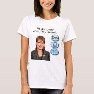 Camiseta Sarah Palin: Eu gostaria de usar uma de minhas