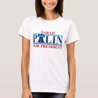 Camiseta Sarah Palin para o presidente T-shirt