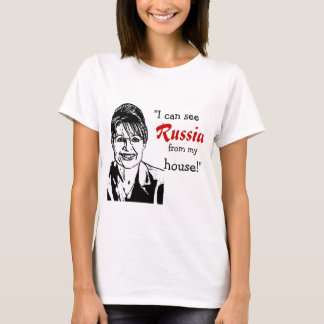 Camiseta Sarah Palin - Rússia
