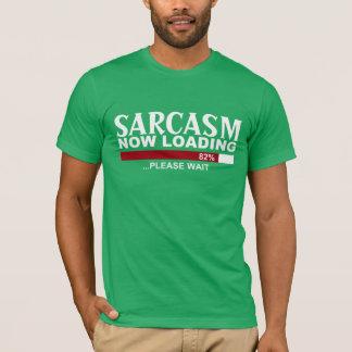 Camiseta SARCASMO que CARREGA agora o T do GRÁFICO do