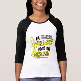 Camiseta Sarcoma EU VISTO o AMARELO PARA MINHA IRMÃ 37