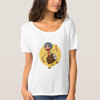 Camiseta Sardar Ji com Dhol!