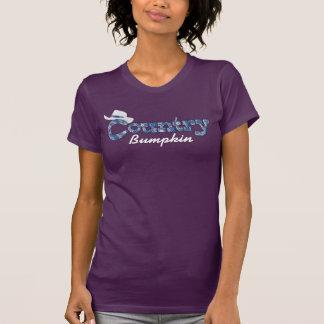 Camiseta Sarja de Nimes da vaqueira do Bumpkin do país &