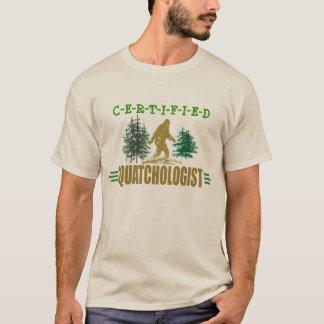 Camiseta Sasquatch cómico, pé grande engraçado